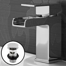 I rubinetti cascata bacino rubinetto MISCELATORE RUBINETTO DA BAGNO MONO leva cromata lavandino rubinetto lavaggio