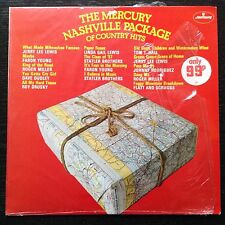 The Mercury Nashville Package Of Country Hits  Various Vinyl Record