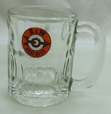 Vintage  A &W Mug Glass 1960's Retro Stubby Mug Junior size ORIGINAL