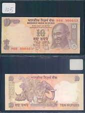 INDIA 10 RUPEES 2009 UNC (rif. 105)
