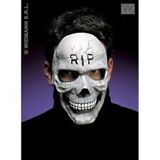 Mezzo Viso Maschera teschio per Halloween Fancy Dress accessorio