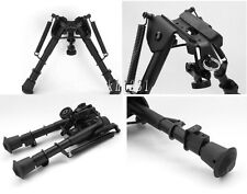 "UK Sale Sporting Military Metal Stud/Spring Eject  7""-10"" folding shooter Bipod"