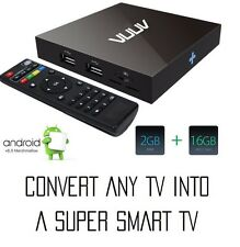 VUUV PRO Android 6 Smart TV Box,Media Player,Mini PC,Quad Core 2GB/8GB UHD 4K