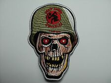 D.R.I.  EMBROIDERED PATCH