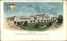 1904 Louisiana Purchase Expo St. Louis Palace of Arts Postcard