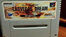 LAS VEGAS DREAM In Golden Paradise SUPER FAMICOM (Jap NTSC)