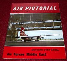 Air Pictorial 1965 May RAF Middle East AFME,Belgian Congo,RAAF Meteor,Skyfame