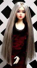 "DOLL Wig, Monique Gold ""Paris"" Size 5/6 Stripe Punk (Wht Blonde w Chestnut Brn)"
