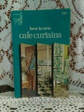 How To Sew Cafe Curtains The Singer Company PB 1974