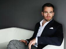 Chris Pine A4 Photo 3