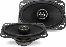 "Polk Audio DXi461 80W RMS 4"" x 6"" DXi Series 2-Way Coaxial Car Stereo Speak"