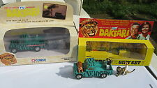 CORGI GS 7 DAKTARI SET 1967-76 ORIGINAL LANDY IN GOOD REPRO BOX +1998 ASNEW SET.