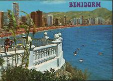 POSTAL DE BENIDORM . PLAYA DE LEVANTE DESDE EL MIRADOR . MAS EN MI TIENDA CC1684