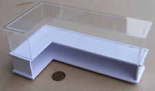 1:12 Scale White Painted Shop Display Counter Dolls House Accessory HWL