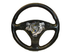 *AUDI A6 C5 F/L 02-05 BLACK LEATHER 3 SPOKE MULTIFUNC STEERING WHEEL 8Z0419091AD