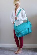 EUC (Used 1x) Lululemon Move It Messenger Shoulder Bag Teal Green