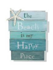 "INSPIRATIONAL QUOTE ""THE BEACH""  IMAGE A4 Poster Gloss Print Laminated"