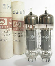 PAIR GE/Hp EL86 6CW5 tubes - Hickok TV7B tested @ 72, 74,  min:50
