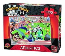 NEW! King Looney Tunes - Athletics 1000 piece cartoon jigsaw puzzle
