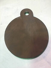 """AR500 Steel Target Hanging Gong 6"""" x 3/8"""" NRA Action Pistol! USA MADE!"""