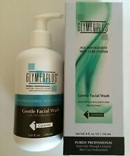Glymed Plus Professional Gentle Face Wash with 10% Glycolic Acid NEW IN BOX 8 oz