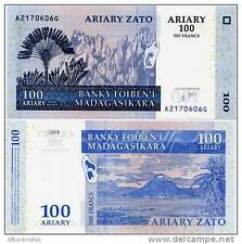 Madagascar - 100 Ariary  - UNC Currency Note