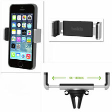 Belkin Car Air Vent Mount Holder for iPhone 5 5S 6 6S 7 Plus Galaxy S3 4 5 6 7