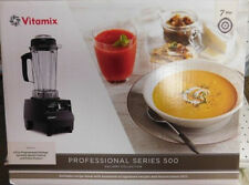NEW VITAMIX PROFESSIONAL SERIES 500 GALLERY COLLECTION VM0102B BLACK BLENDER