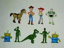 Lot 9 Figurines Toy Story - Buzz l'Eclair /Woody/Pile Poil/Rex/Alien/Jessie
