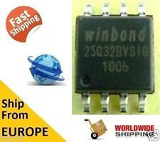 WINDBOND W25Q32BVSIG 25Q32 32M-BIT FLASH 8 SPI BUS SERIAL EEPROM BIOS CHIP - NEW