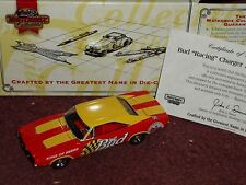 "MATCHBOX  1969 DODGE CHARGER BUDWEISER w COA 1/43 ""THE KING OF BEERS"""