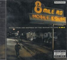 Eminem Obie Trice 50 Cente D12 Music From Motion Picture 8 Mile CD New Sealed