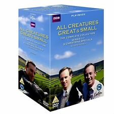 All Creatures Great and Small Complete TV Series Collection 33 Discs DVD New