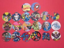 Marvel Comics, Slamcaps, by Slamco Set POGS