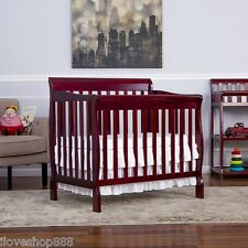 Dream On Me 3 in 1 Convertible Mini Crib Changer Day Bed Twin Baby Toddler Wood