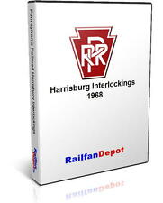 Pennsylvania Railroad Harrisburg Interlockings - PDF on CD - RailfanDepot