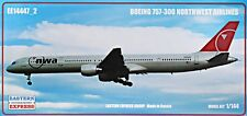 Eastern EXPRESS 1/144 MODELLO KIT 14447 _ 2 BOEING 757-300 di Northwest Airlines