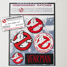 "GHOSTBUSTERS ""VENKMAN"" Team Patches - Iron-On Patch Mega Set #022 - FREE POST"