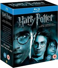 HARRY POTTER Complete Movie Collection Bluray Box set All Films 1+2+3+4+5+6+7+8