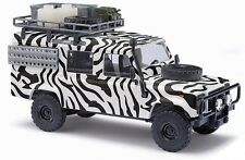 NEW  HO Busch 1983 SAFARI Land Rover Defender w/ Roof Rack  : 1/87 scale 50312