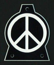 GUITAR TRUSS ROD COVER - Engraved - Fits JACKSON - PEACE - OVERSIZED XL - BLACK