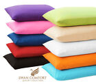 2 PC LUXURY PILLOW CASE SET STANDARD 20x30 KING 20x40 COVER MICROFBR PILLOWCASES