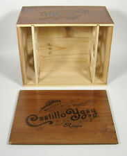 Castillo Ygay Bordegas Rioja Marques De Murrieta Wine Crate Wood Case Box Cellar