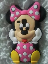 Silicone Cover per cellulari MINNIE1 PINK SAMSUNG GALAXY S DUOSS7562/TREND S7560