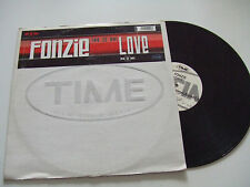 "Fonzie ‎– Love  - Disco Mix 12"" PROMO Vinile ITALIA 2000 Euro-House"