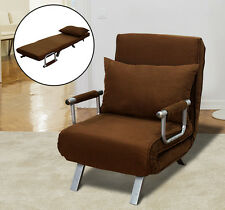 Sofa Bed Arm Chair Convertible Single Dorm Room Couch Recliner Sleeper Folding