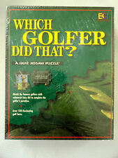 New Which Golfer Did That jigsaw puzzle history facts golf golfing professionals