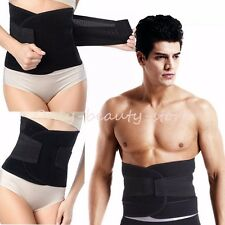 Deluxe Double Pull Elastic Lumbar/ Lower Waist Brace Support Belt Breathable -DD