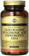 Solgar Glucosamine Hyaluronic Acid Chondroitin MSM 120 tabs