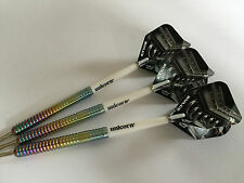 23g Dragonfire V12 Tungsten Darts Set, Unicorn Stems & Bulls V12 Flights